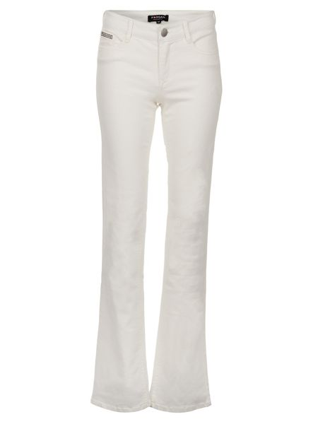 Morgan Bootcut Pocket-Detail Cotton Jeans