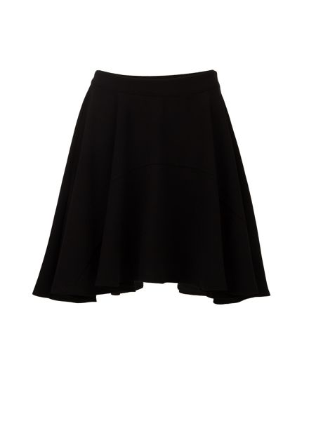 Morgan Asymmetric Hanky-Hem Skater Skirt