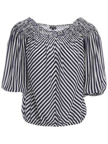 Morgan Striped gypsy top