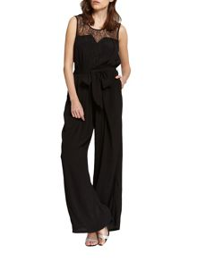Morgan Long Wide-Legged Jumpsuit