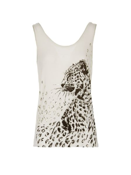 Morgan Printed Sleeveless Top