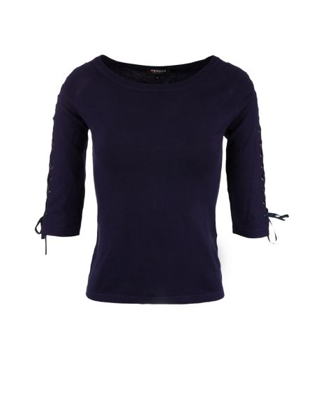 Morgan Lace Up Jumper