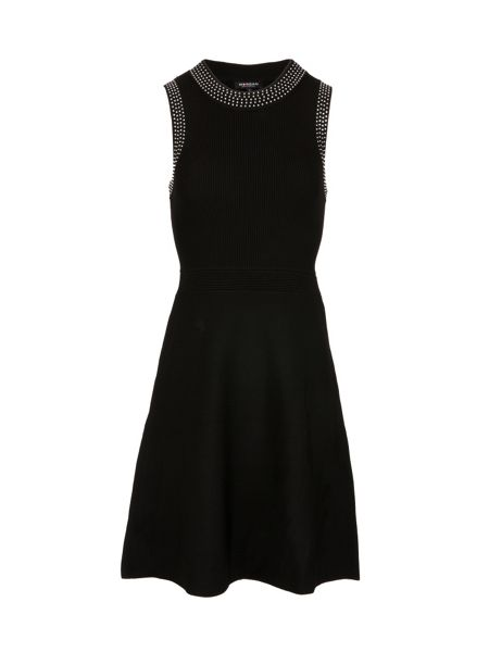 Morgan Studded-Detail Knitted Dress