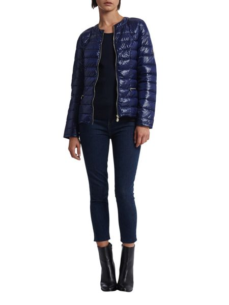 Morgan Feathers Filling Down Jacket