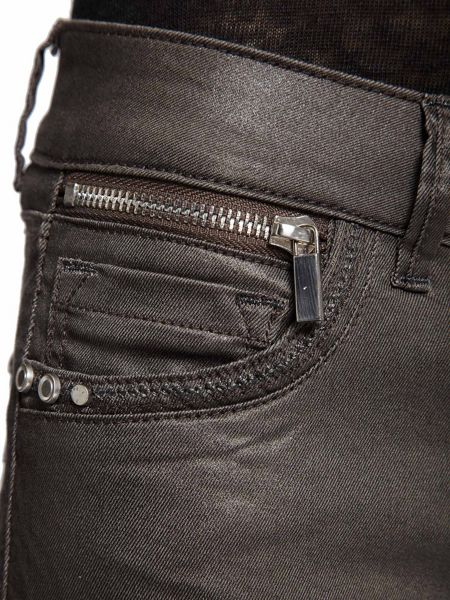 Morgan Slim Fit Coated Look Pocket Detail Jeans