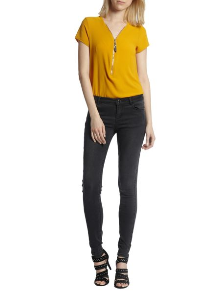 Morgan Stretch Skinny Jeans