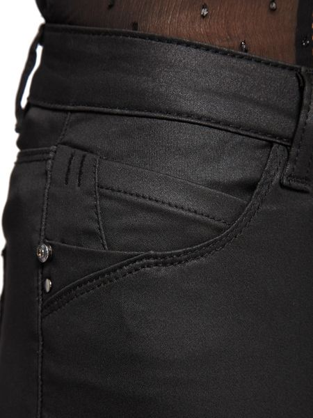 Morgan Slim-Fit Coated-Fabric Jeans