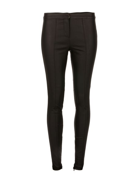 Morgan Skinny-Fit Leather-Look Trousers