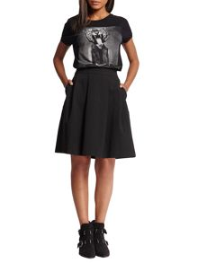 Morgan Twill skater skirt
