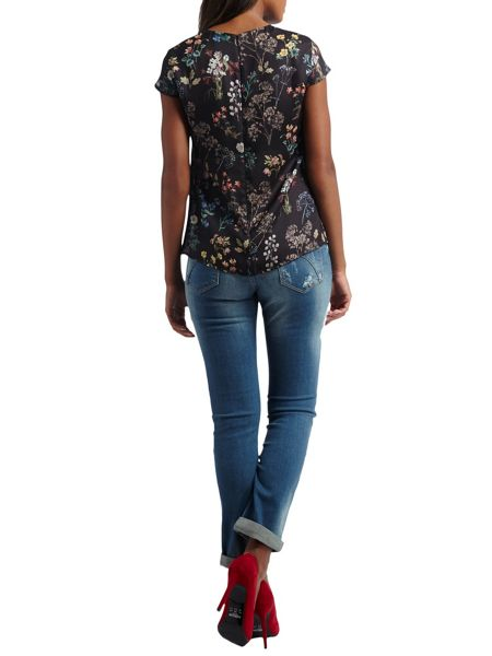 Morgan Flower Printed Top