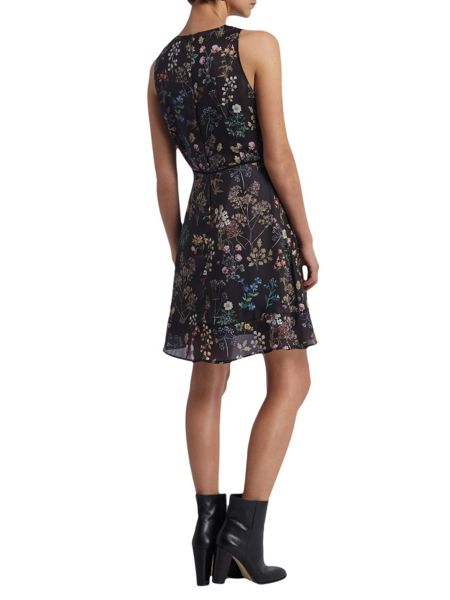 Morgan Flower Printed Dress