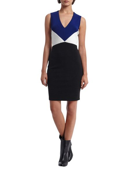 Morgan Colorblock Knitted Dress
