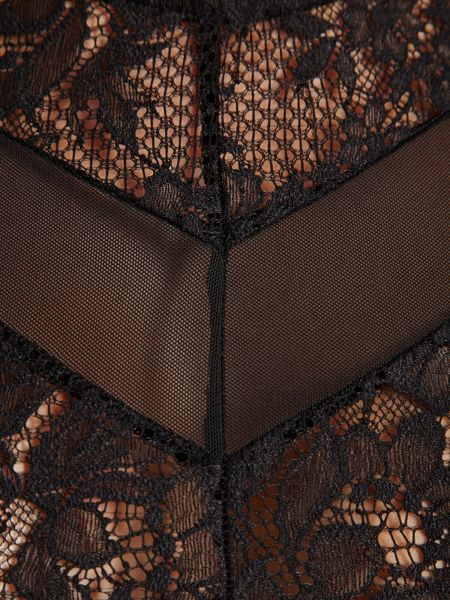 Morgan Lace and fishnet top
