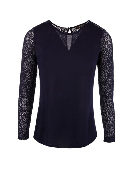 Morgan Lace sleeves top