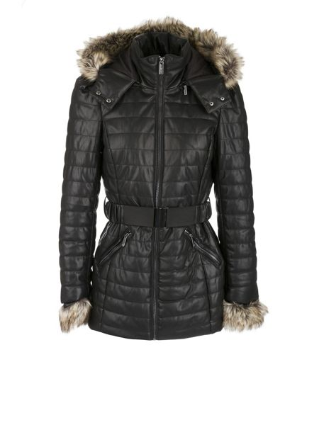 Morgan Hooded Down Coat