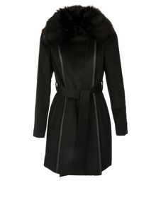 Morgan Mixed Wool Coat