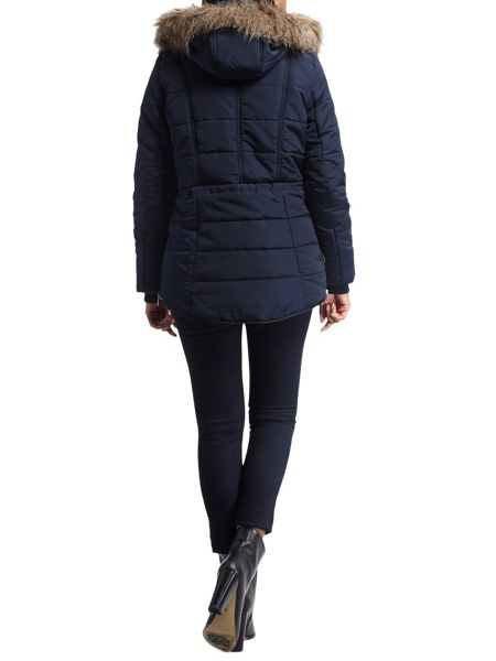 Morgan Hooded down jacket