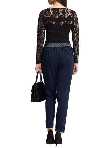 Morgan Lace paneled top