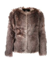Morgan Faux Fur Coat
