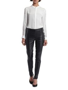 Morgan Faux Leather Leggings