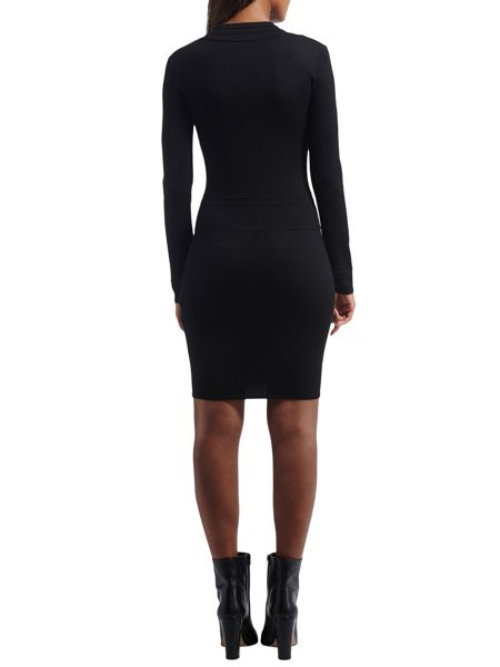 Morgan Knitted And Quilted Dress