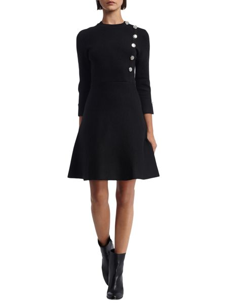 Morgan Sailor Style Knitted Dress