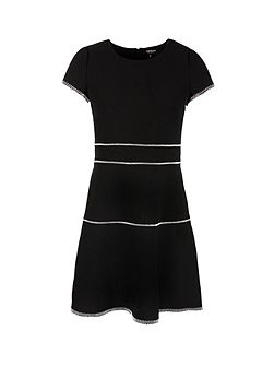 Overstitchings Crepe Dress