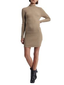 Morgan Ribbed Knit Dress
