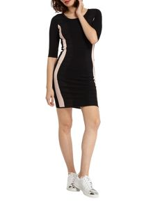 Morgan Textured Knit Dress