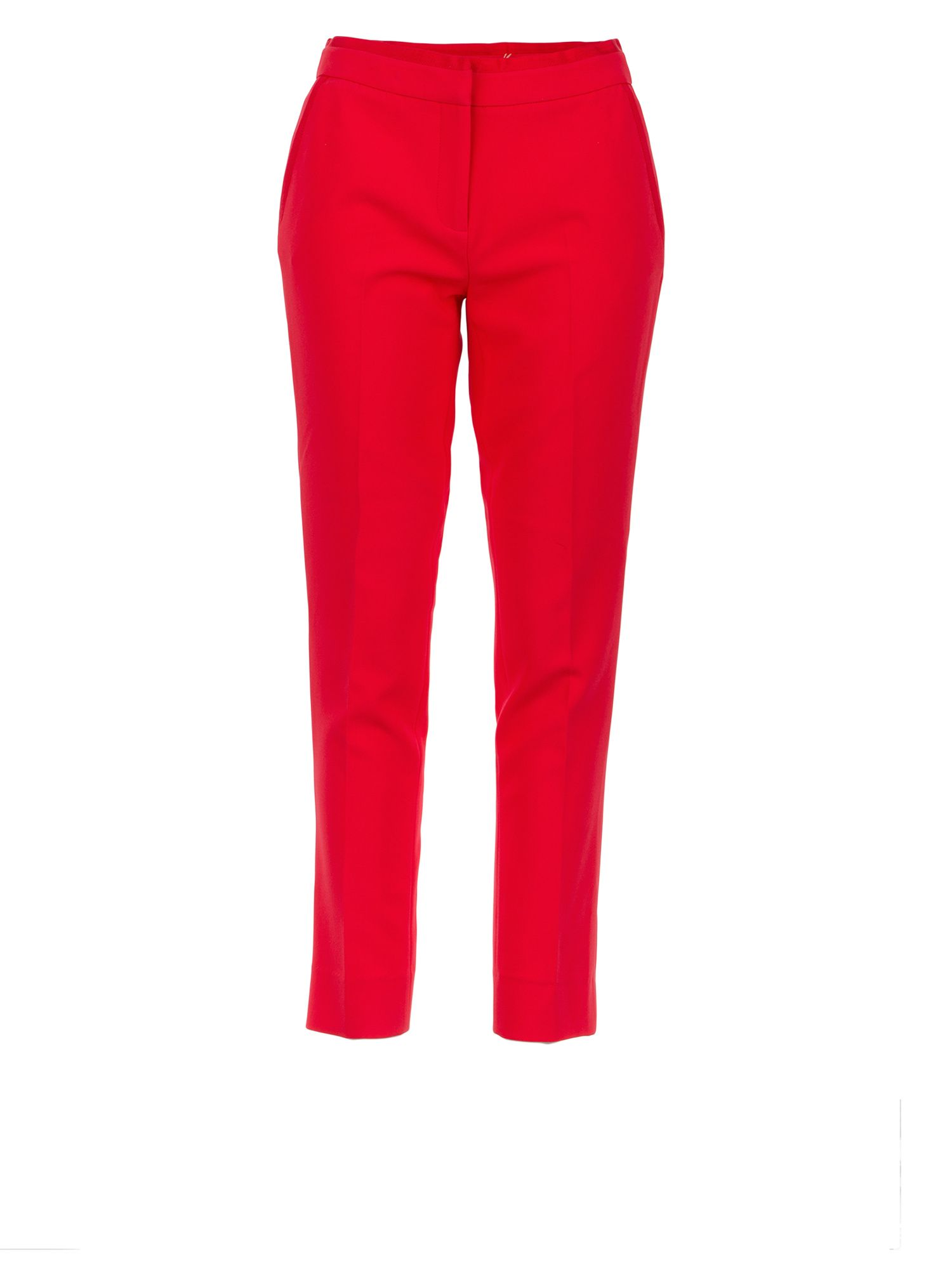 Morgan Stretch Sergé 7/8 Pants, Hot Pink