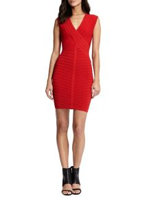 Morgan Stretch Knit Bodycon Dress