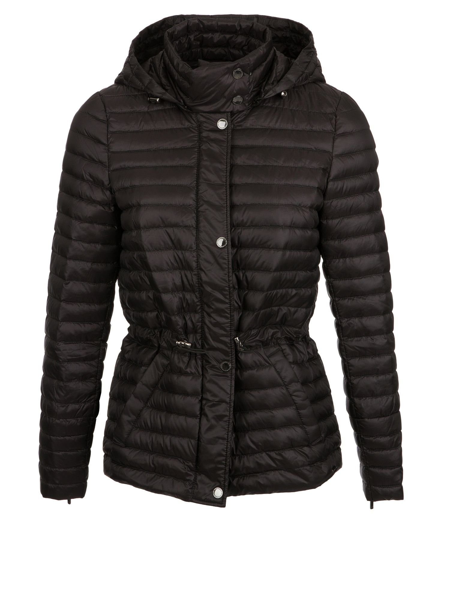Morgan Light Quilted Down Jacket, Black