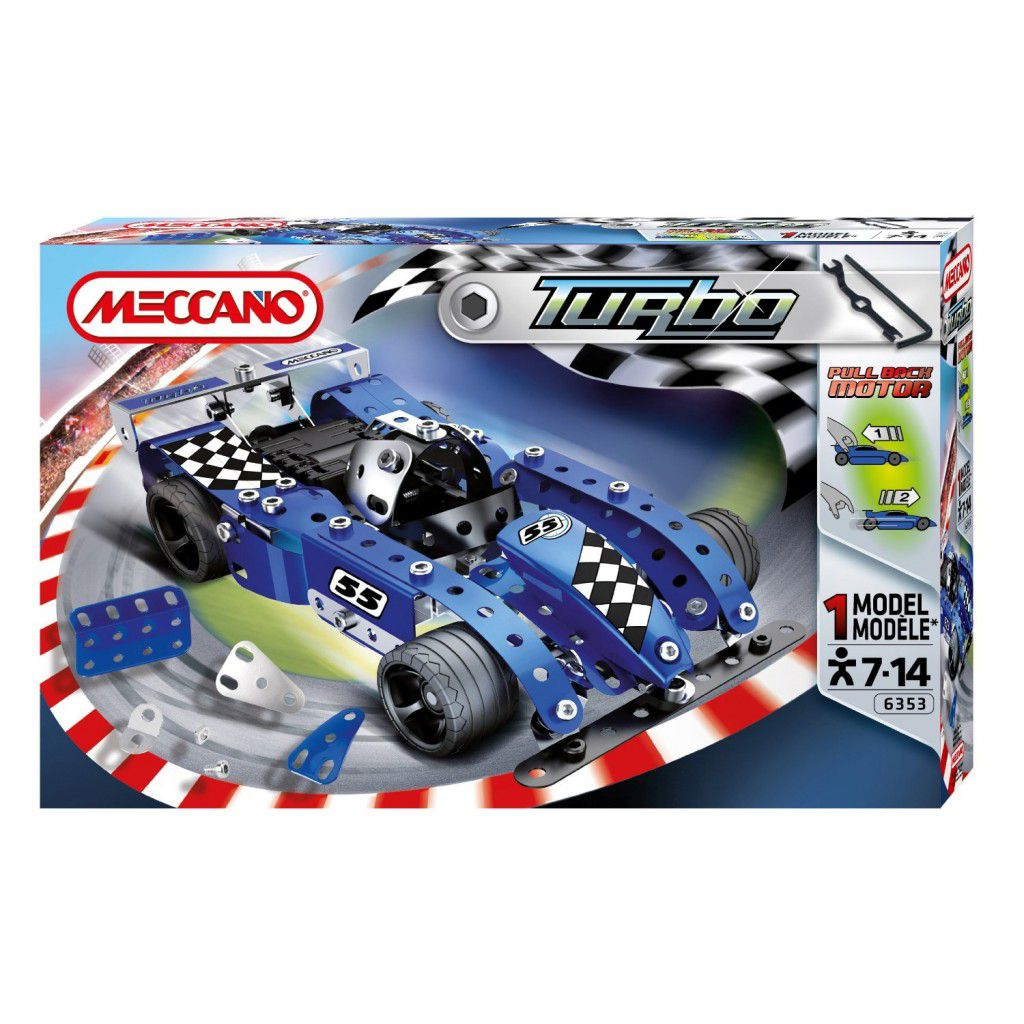 Meccano Evolution Blue Tractor 886353