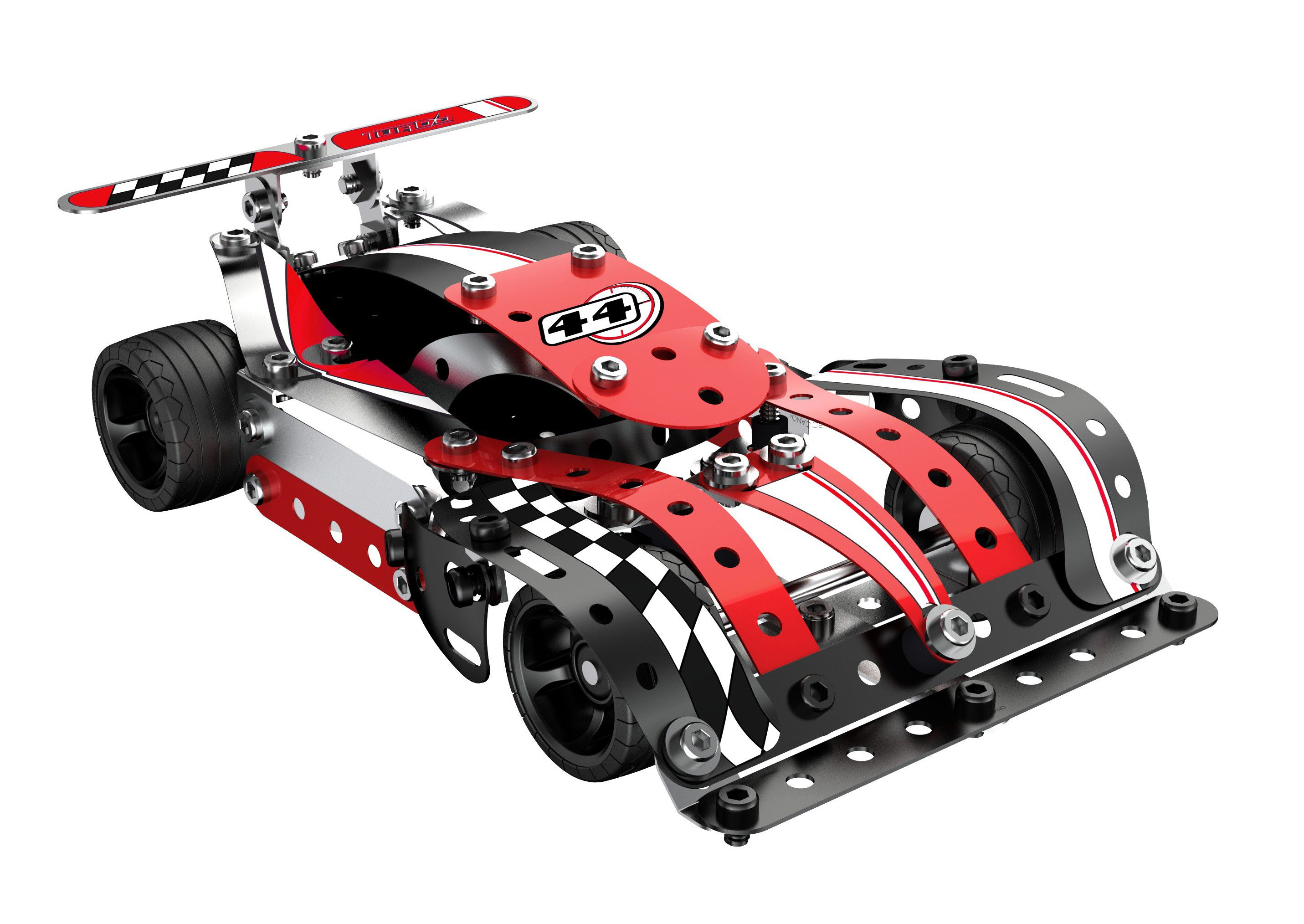 Meccano Turbo Evolution Red 886354