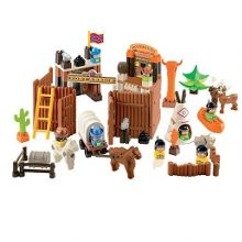 Wild west fort playset