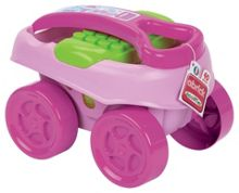 abrick 40 Brick Carry Wagon - Pink