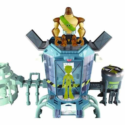Ben 10 Omniverse Transforming Station Playset