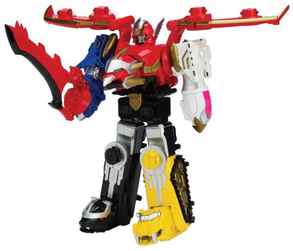 Power Rangers Mega Force Gosei Megazord