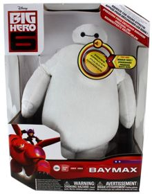 25cm soft baymax toy with sound effects