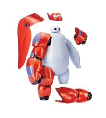 Big Hero 6 20cm armor-up baymax figure