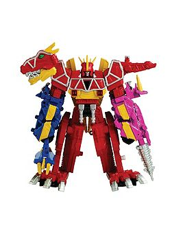 Dino Charge Deluxe Megazord Figure