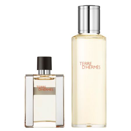 HERMÈS Terre d`Hermès Parfum Refillable Travel Spray