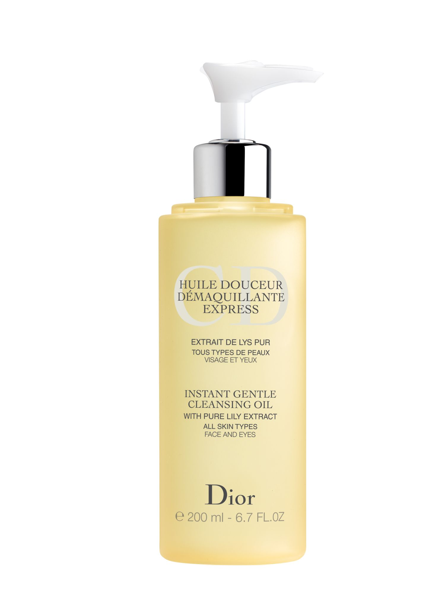 Dior Instant Gentle Clansing Oil 200ml