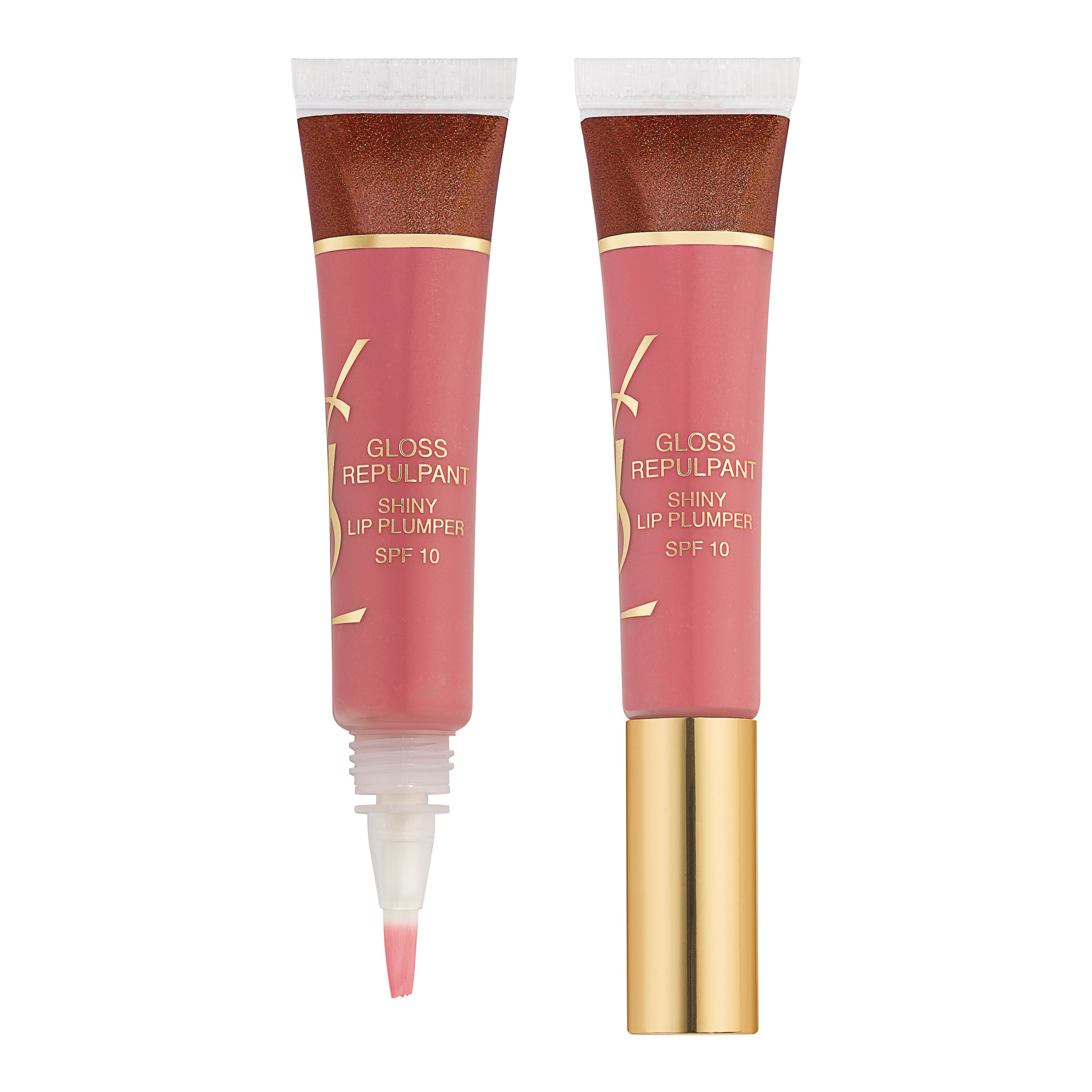 yves saint laurent gloss repulpant shiny lip plumper nude review compare prices buy online. Black Bedroom Furniture Sets. Home Design Ideas