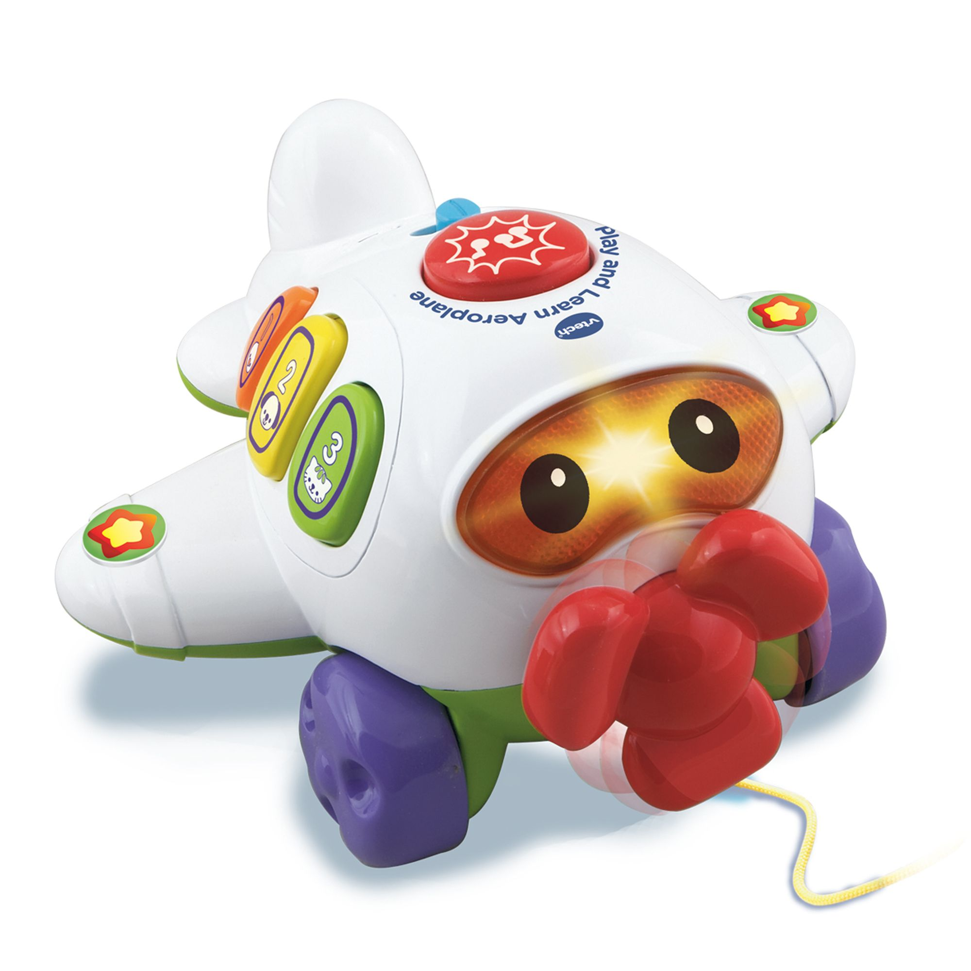 Image of Vtech Play & Learn Aeroplane