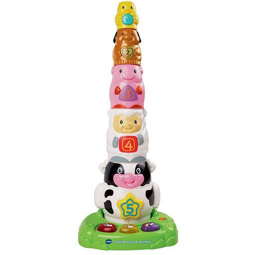 Vtech Stack and Discover Animals