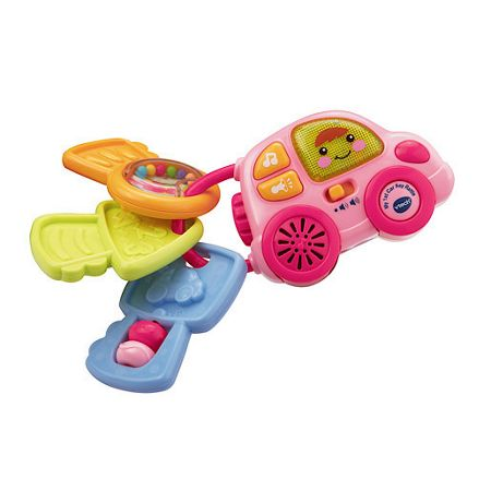 Vtech My 1st car key rattle - pink