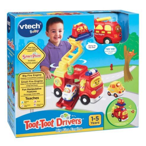 Toot Toot Driver Big Fire Engine