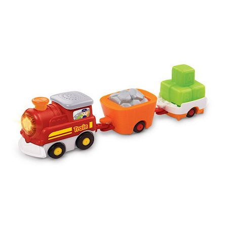 Vtech Toot-toot drivers train with wagons