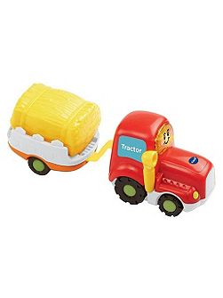 Toot-toot drivers tractor with trailer